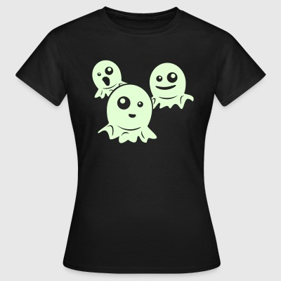 Olive How scary... T-Shirts  - Frauen T-Shirt