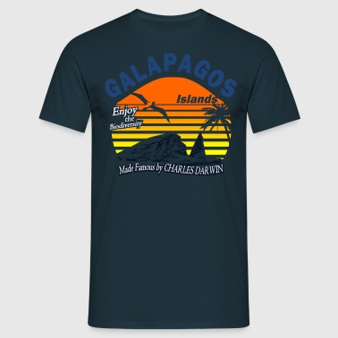 Galapagos Islands - Men's T-Shirt
