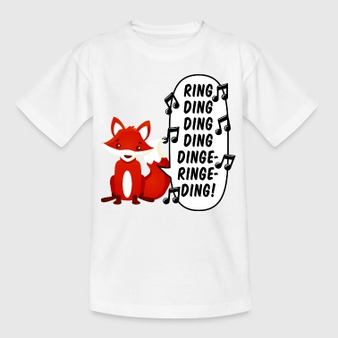 What does the fox say? - T-skjorte for barn