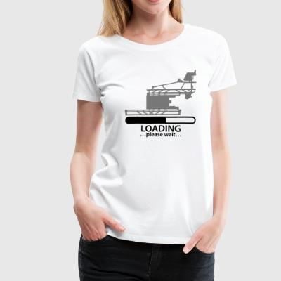 Berlin Brandenburg airport loading T-Shirts - Women's Premium T-Shirt