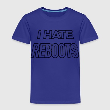 I hate reboots Kick-Ass style - Kinder Premium T-Shirt