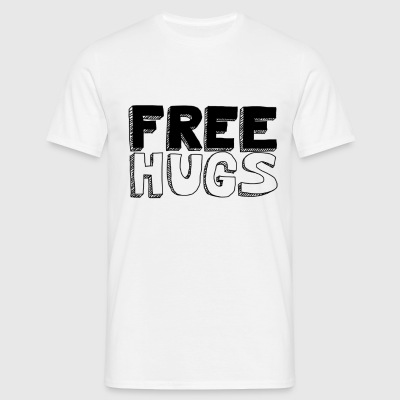 FREE HUGS Homme - T-shirt Homme