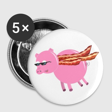 BaconCape Pig Button - Buttons medium 32 mm