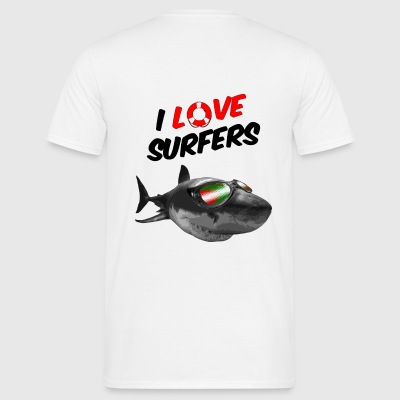 I love Sufer III - T-shirt Homme
