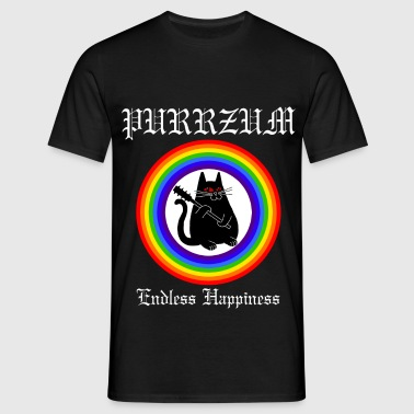 Purrzum - Endless Happieness - Männer T-Shirt