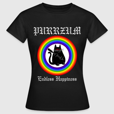 Purrzum - Endless Happieness - Frauen T-Shirt