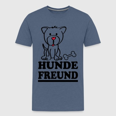 Hundefreund Kinder T-Shirts - Teenager Premium T-Shirt