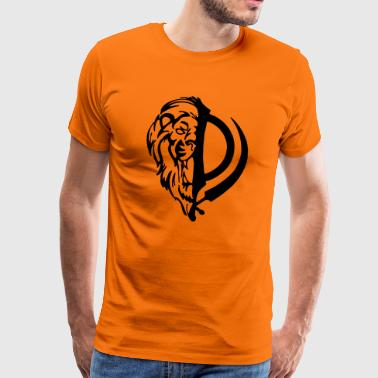 Lion Khanda - Men's Premium T-Shirt