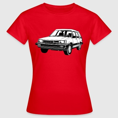 Tercel 4WD illustration - Autonaut.com - Women's T-Shirt