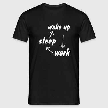 office humor T-Shirts - Men's T-Shirt