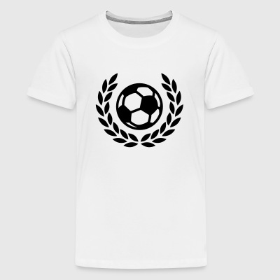 Fußball Lorbeer T-Shirts - Teenager Premium T-Shirt