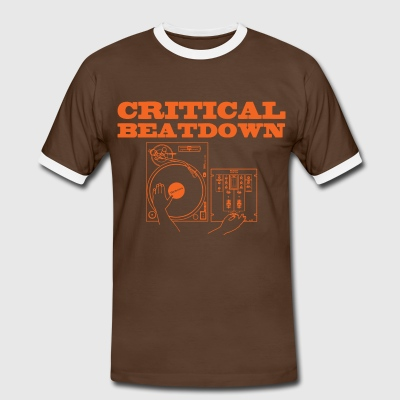 Critical Beatdown shirt - Men's Ringer Shirt