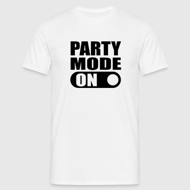 party mode on T-Shirts - Men's T-Shirt