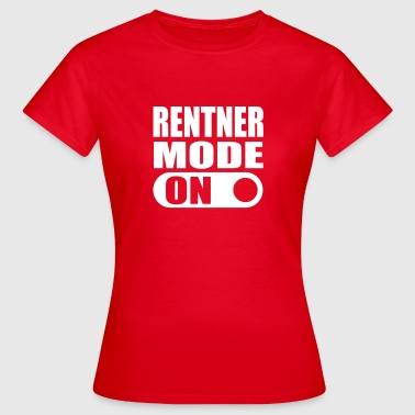 pensioner mode on T-Shirts - Women's T-Shirt