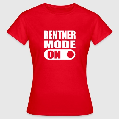 rentner mode on T-Shirts - Frauen T-Shirt