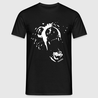 wild grizzly bear - Männer T-Shirt