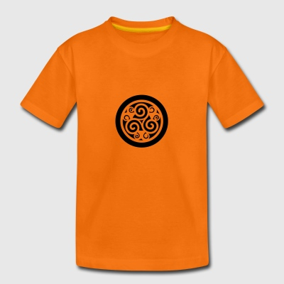 Triskell celte t-shirt orange enfant - T-shirt Premium Enfant