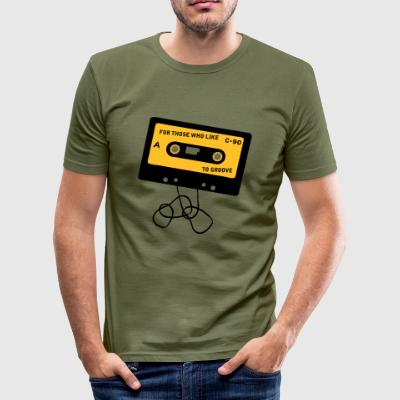 Camel broken_tape3_duotone T-shirts - slim fit T-shirt