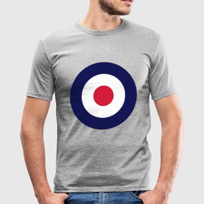 MOD TARGET SLIM FIT SHIRT - Männer Slim Fit T-Shirt