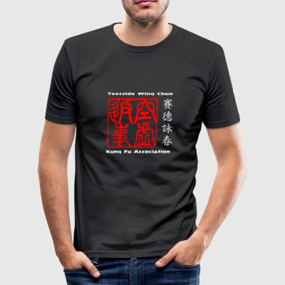 Original design t-shirt based on wing chun - Men's Slim Fit T-Shirt