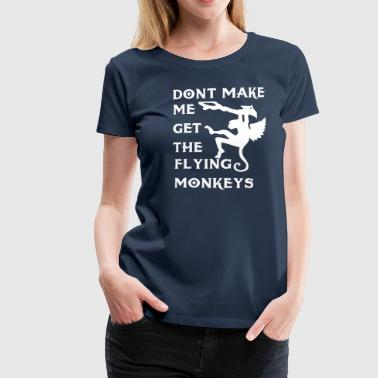 Flying Monkeys - Women's Premium T-Shirt
