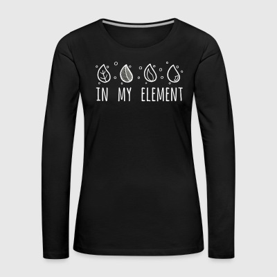 In My Element - Women's Premium Longsleeve Shirt