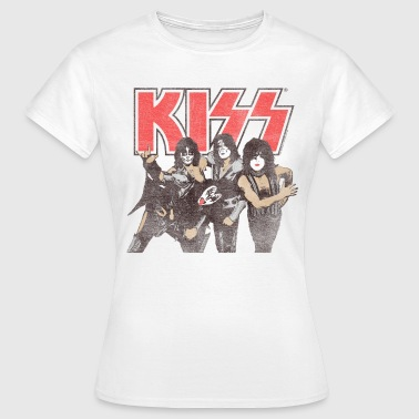 Kiss Shout It Out Loud  - Women's T-Shirt