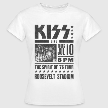 Kiss Roosevelt Stadium  - Women's T-Shirt