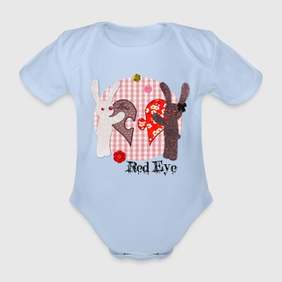 Body Red Eye - Body bébé bio manches courtes