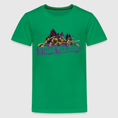 Teenager Premium Shirt TURTLES 'Stand your ground! - Camiseta premium adolescente