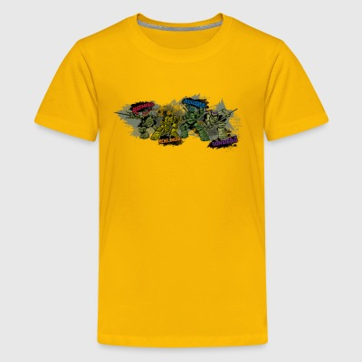 Teenage Premium Shirt TURTLES 'Michelangelo ...' - Camiseta premium adolescente