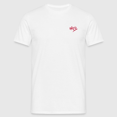 UKGraffiti.com - Red UKG Tag T-Shirt - Men's T-Shirt