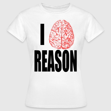 I Heart REASON - Women's T-Shirt