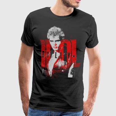 Don't Stop Billy Idol - T-shirt Premium Homme