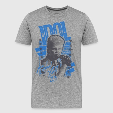 Rebels Billy Idol - Männer Premium T-Shirt