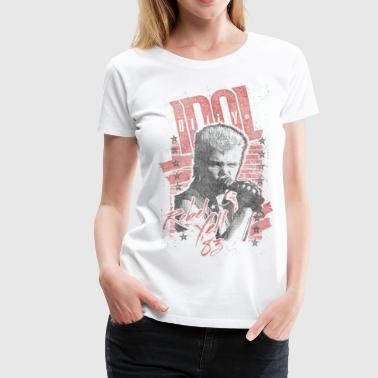 Rebels Billy Idol - Frauen Premium T-Shirt