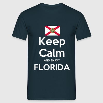 Keep Calm and enjoy Florida Shirt - Männer T-Shirt