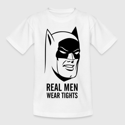 Batman Real Man Teenage T-Shirt - Teenager T-Shirt