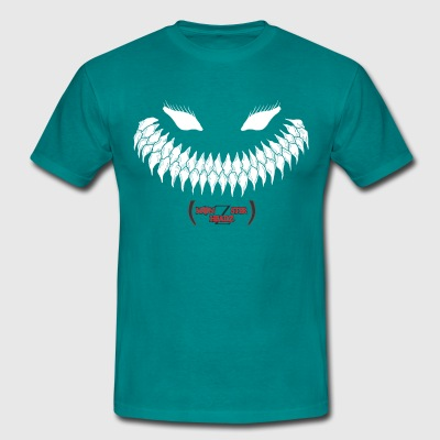 Monzsterheadz dark beast mens t-shirt - Men's T-Shirt