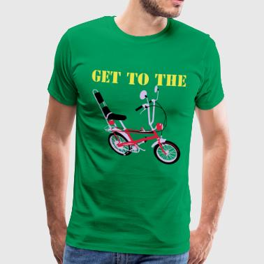 Get to the chopper - Men's Premium T-Shirt