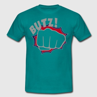 Männer-shirt ''BUTZ''-by color-swap - Männer T-Shirt