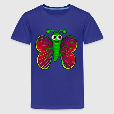 Butterfly T-Shirts - Teenager Premium T-Shirt