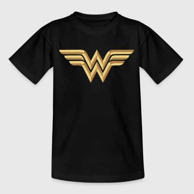 Wonder Woman Logo Vecteur Ado Tee Shirt - T-shirt Ado