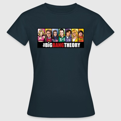 The Big Bang Theory Comic vrouwen T-shirt - Vrouwen T-shirt