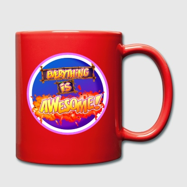 Everything is awesome! - Full Colour Mug
