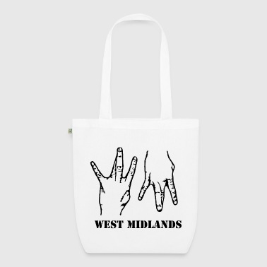 WM Hands Organic Tote Bag - EarthPositive Tote Bag