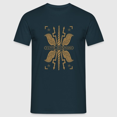 ROMAN SHIELD - Männer T-Shirt