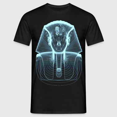 Tutankhamen X-Ray Style Men's T-Shirt - T-skjorte for menn