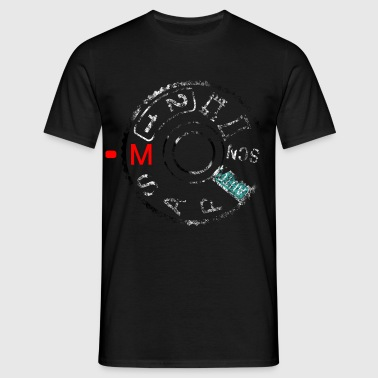 Shoot A7 manual (distressed) - Mediarena.com - Männer T-Shirt