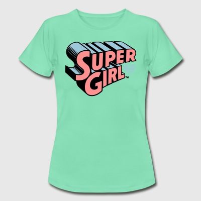 Supergirl Logo Original - Dame-T-shirt